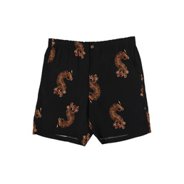 Wacko Maria Hawaiian Shorts 7 Black