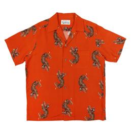 Wacko Maria Hawaiian S/S Shirt 18 Orange