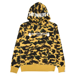 BAPE x MMJ Pullover Hoodie Yellow