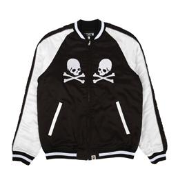 BAPE x MMJ Souvenir Jacket Black