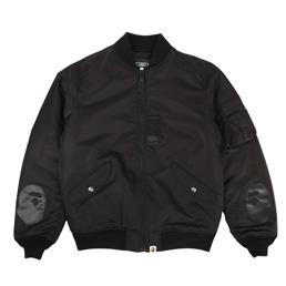 BAPE x MMJ MA-1 Jacket Black
