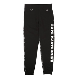 BAPE x MMJ Slim Sweat Pants Black