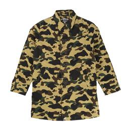 BAPE 1st Camo Rain Coat Yellow