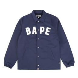 BAPE Coach Jacket Navy