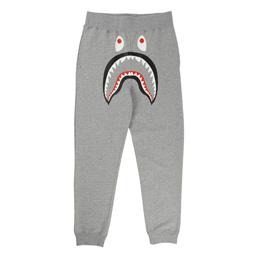 BAPE Shark Slim Sweat Pants Grey