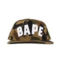 BAPE 1st Camo Snapback Cap Green