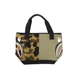 BAPE 1st Camo Shark Tote Bag Green