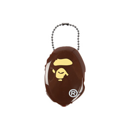 Bape Ape Head Coin Case Brown