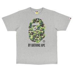 BAPE ABC Camo By Bathing Ape T-Shirt Grey/ Green