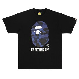 BAPE Color Camo By Bathing T-Shirt Black/ Navy