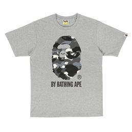 BAPE City Camo By Bathing T-Shirt Grey