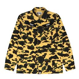 BAPE 1st Camo Utility Shirt Yellow