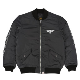 BAPE Bomber Jacket Black