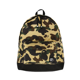 BAPE 1st Camo Day Pack Yellow