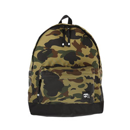 BAPE 1st Camo Day Pack Green