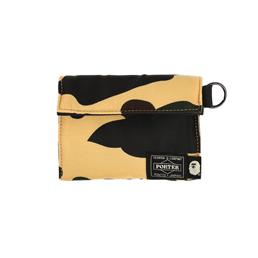 BAPE Porter 1st Camo Wallet Yellow