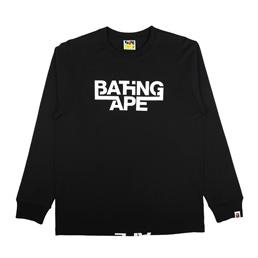 BAPE Bathing Ape L/S T-Shirt Black