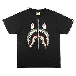 BAPE ABC Shark T-Shirt Black