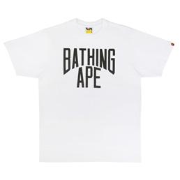 BAPE Bicolor NYC Logo T-Shirt - White