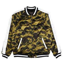 BAPE 1st Camo Reversible Souvenir Jacket Green