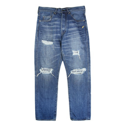 BAPE 1999 Type-02 Washed Denim Pants - Indigo