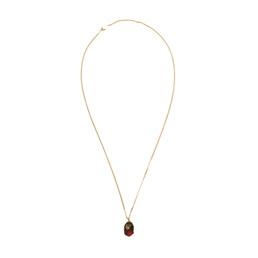 BAPE Ape Head Necklace Gold