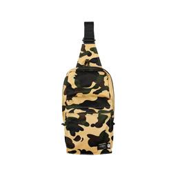 BAPE Porter 1st Camo One Shoulder Bag Yellow