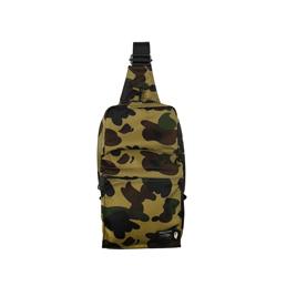BAPE Porter 1st Camo One Shoulder Bag Green