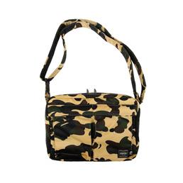 BAPE Porter 1st Camo Shoulder Bag Yellow