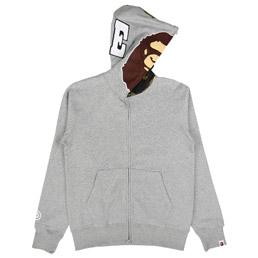 BAPE 2nd Ape Hoodie Grey