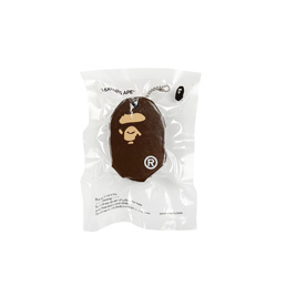 BAPE Ape Head Keychain Brown