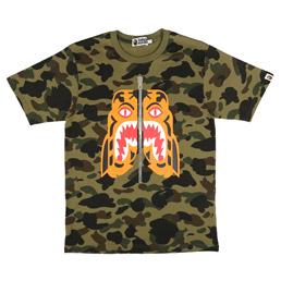 BAPE 1st Camo Tiger T-Shirt Green