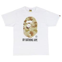 BAPE Gradation Camo T-Shirt White/Green