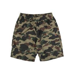 BAPE 1st Camo Beach Pants Green