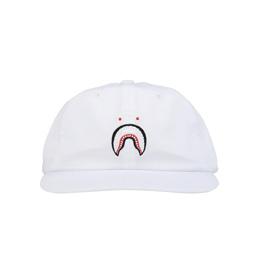 BAPE Shark Panel Cap White