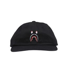 BAPE Shark Panel Cap Black