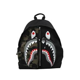 BAPE 1st Camo Shark Day Pack Green