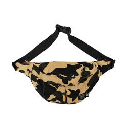 BAPE X HP 1st Camo Waist Bag Yellow