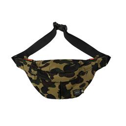 BAPE X HP 1st Camo Waist Bag Green