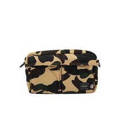 BAPE X HP 1st Camo  Shoulder Bag Yellow