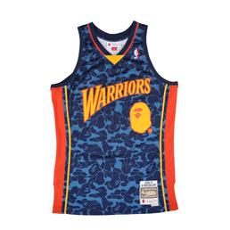 BAPE Warriors ABC Basketball Jersey