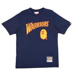 BAPE Warriors T-Shirt Navy