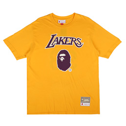 BAPE Lakers T-Shirt Yellow