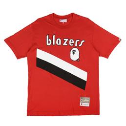 Bape Blazers T-Shirt Burgundy