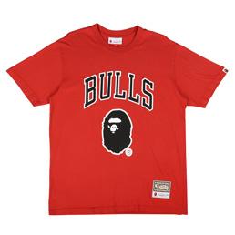 BAPE Bulls T-Shirt Red