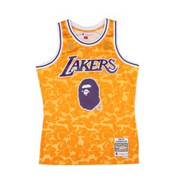 BAPE Lakers ABC Basketball Jersey