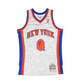 BAPE Knicks ABC Basketball Jersey