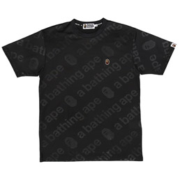 BAPE WGM Jersey T-Shirt Black