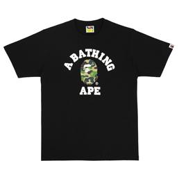 BAPE ABC College T-Shirt Black/ Green