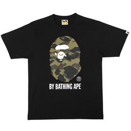 BAPE 1st Camo By Bathing T-Shirt Blk/Grn